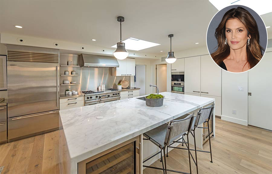 Cindy Crawford Beverly Hills house kitchen