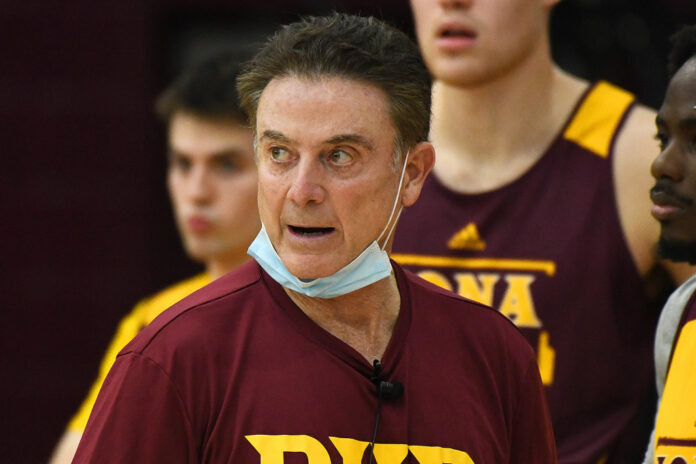Opinion: Rick Pitino, back in NCAA Tournament, got bruised but never lost what made him great