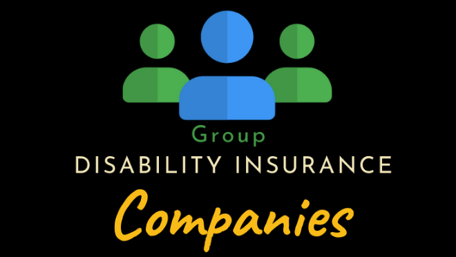 group disability insurance companies
